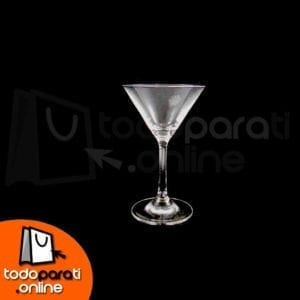 Copas de cristal para Martini o Margarita 4.5 onzas