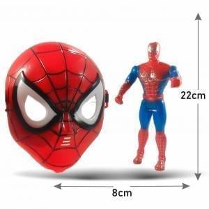 Mascara Careta Iroman Spiderman Batman Capitán América con sonido
