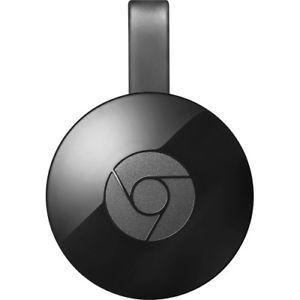 Google Chromecast 2 (Negro, 2nd Generation) #GA3A00093-A14-Z01 Nuevo