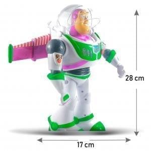 Robot GRANDE Buzz Lightyear con alas desplegables