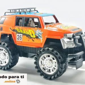 Carro a Fricción 4X4 Juguete Regalo (23 cm)