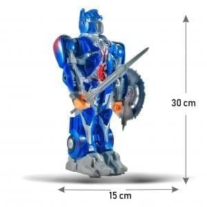 Robot Transformers Optimus Prime con Movimiento y Sonido