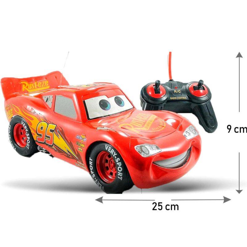 Carro Grande A Control Remoto Cars Rayo Mcqueen Juguete