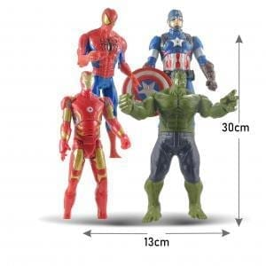 AVENGERS, muñecos, figuras de accion, hulk, capitan america,