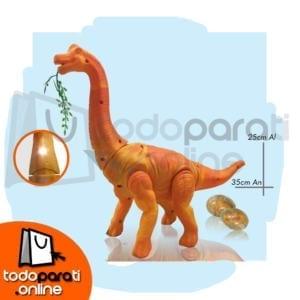 Juguete Dinosaurio con movimiento luz sonido proyecta imagen