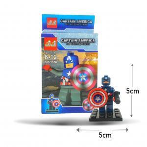 Legos Capitán América perfecto para regalo