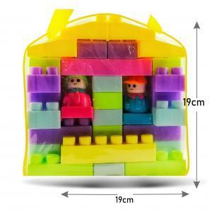 Mochila Con Legos Didácticos ayuda motricidad 36 pcs