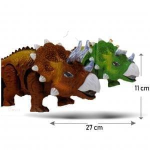 Rinoceronte con movimiento luz sonido