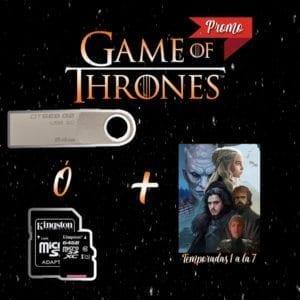 Promoción Game of Thrones