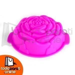 Molde de Silicona para Repostería Rosa