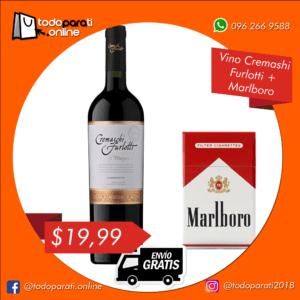 Combo Vino Cremashi Furlotti + Cigarrillos