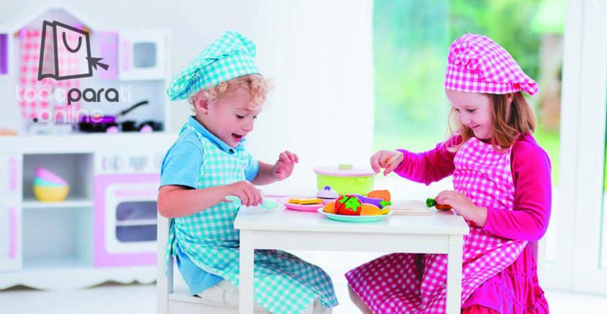 Estimulación culinaria con juguetes: Cocinade juguete