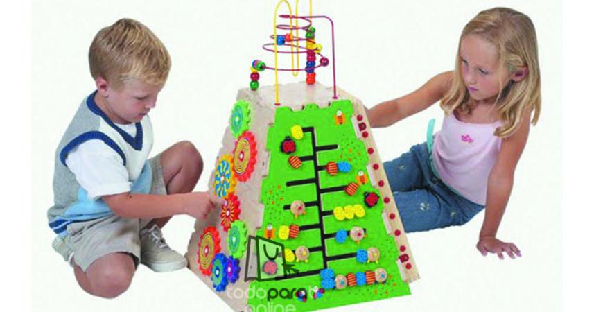 Desarrollo cognitivo a través de juguetes didácticos