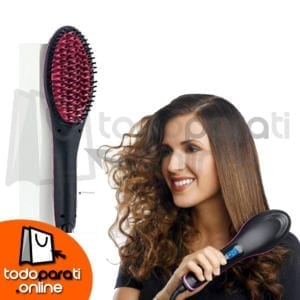 the brush that straightens hair!