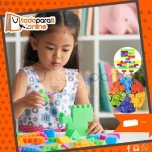 bloques de plastico imaginacion