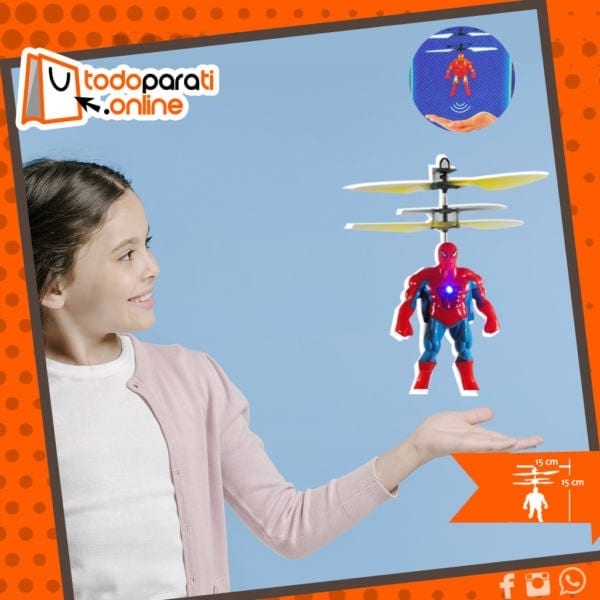 Juguete Volador Spiderman
