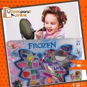 MAQUILLAJE, NIÑAS, maquillaje de frozen, juegos