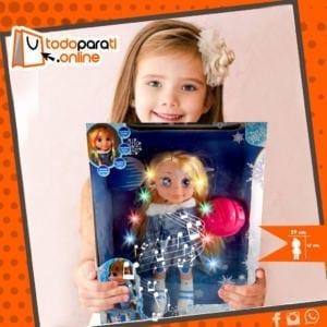 Muñeca Patinadora de Frozen